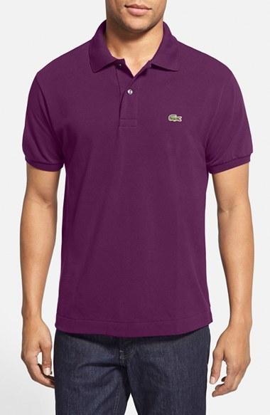 52320c47d4399 Camisa polo morado oscuro de Lacoste,  89   Nordstrom   Lookastic ...