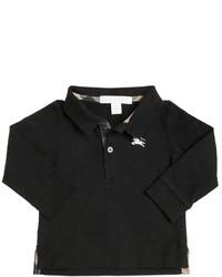 Camisa polo negra de Burberry