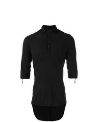 Camisa polo negra de Cedric Jacquemyn