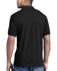 1934159def312 ... Camisa polo negra de Lacoste