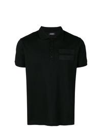 Camisa polo negra de Diesel