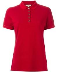 Camisa polo roja de Burberry