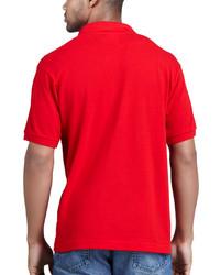 c57358b56 ... Camisa polo roja de Lacoste