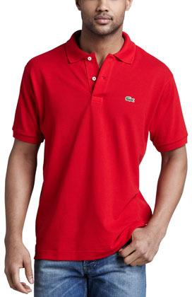 674429dfa2ff2 ... Camisa polo roja de Lacoste ...