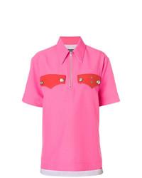 Camisa polo rosa de Calvin Klein 205W39nyc