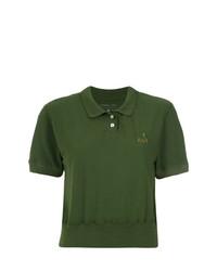 Camisa polo verde oliva de À La Garçonne