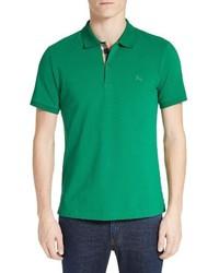 Camisa polo verde de Burberry