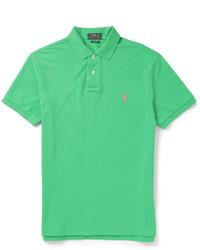 e47fd69413cff Comprar una camisa polo verde Polo Ralph Lauren de MR PORTER