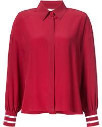 Camisa roja de Fendi