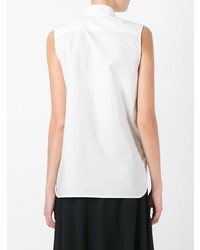Camisa sin mangas blanca de Marni