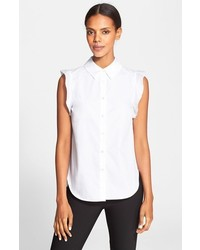 Camisa sin mangas blanca de Stella McCartney