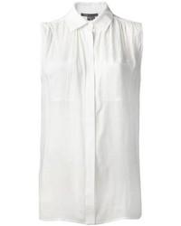 Camisa sin mangas blanca de Vince