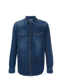 Camisa vaquera azul marino de Department 5