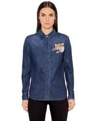 Camisa vaquera azul marino de Stella McCartney