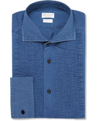 Camisa vaquera azul de Brunello Cucinelli
