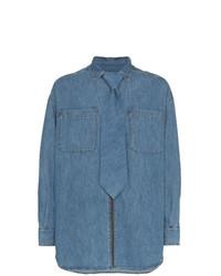 Camisa vaquera azul de Diesel Red Tag