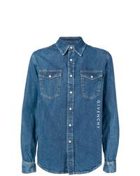 Camisa vaquera azul de Givenchy