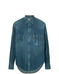 Camisa vaquera azul de H Beauty&Youth