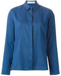 Camisa vaquera azul de Victoria Beckham