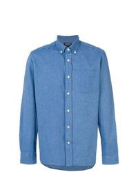 Camisa vaquera azul de Woolrich