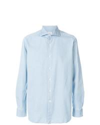 Camisa vaquera celeste de Bagutta