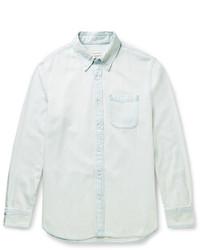 Camisa vaquera celeste de Club Monaco