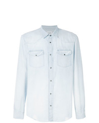 Camisa vaquera celeste de Dondup
