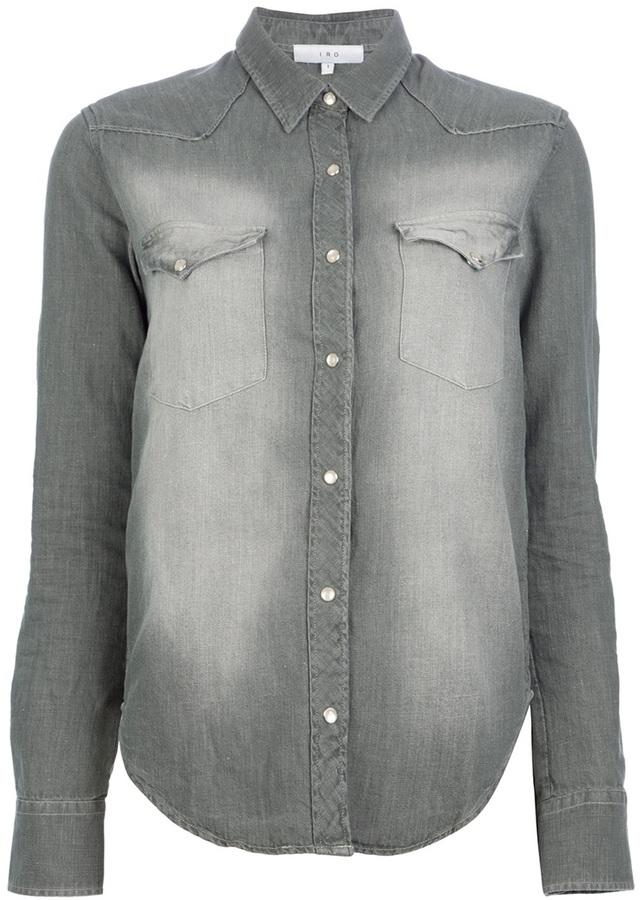 Camisa vaquera gris de IRO