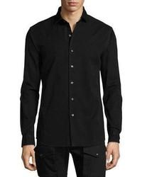 Camisa vaquera negra de Ralph Lauren
