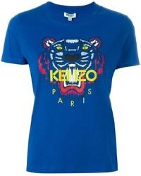 Camiseta Azul de Kenzo