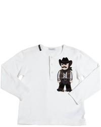 Camiseta Blanca de Dolce & Gabbana