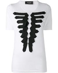 Camiseta blanca de Dsquared2