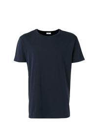 Camiseta con cuello circular azul marino de Closed