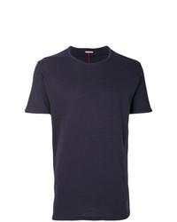 Camiseta con cuello circular azul marino de Homecore