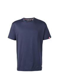 Camiseta con cuello circular azul marino de Rossignol
