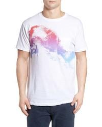 Camiseta con cuello circular blanca de O'Neill
