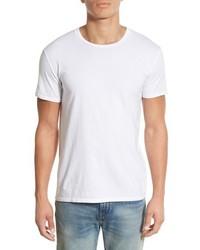 Camiseta con cuello circular blanca de Original Paperbacks