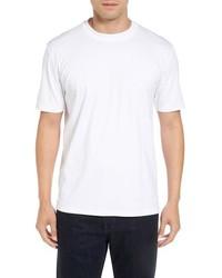 Camiseta con cuello circular blanca de Robert Talbott