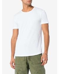 Camiseta con cuello circular blanca de Orlebar Brown
