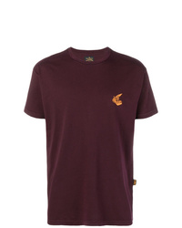 Camiseta con cuello circular burdeos de Vivienne Westwood Anglomania