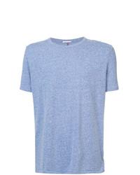 Camiseta con cuello circular celeste de Homecore
