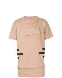 Camiseta con cuello circular en beige de Matthew Miller