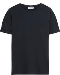 Camiseta con cuello circular en gris oscuro de Frame Denim