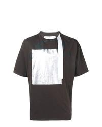 Camiseta con cuello circular estampada en marrón oscuro de Oakley By Samuel Ross