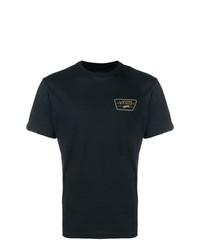 Camiseta con cuello circular estampada negra de Vans