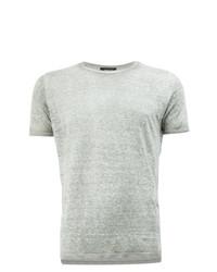 Camiseta con cuello circular gris de Avant Toi