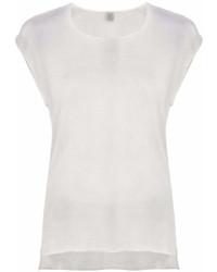 Camiseta con cuello circular gris de Eleventy