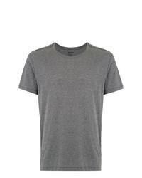 Camiseta con cuello circular gris de OSKLEN