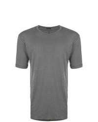 Camiseta con cuello circular gris de The Viridi-anne