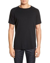 Camiseta con Cuello Circular Negra de Reigning Champ